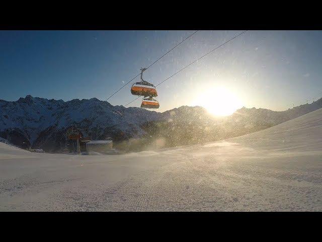 Solden Skiing 2018 GoPro Hero 5