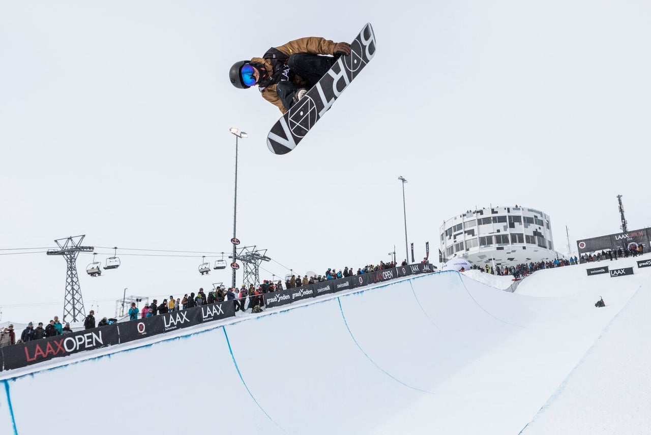 LAAX OPEN 2018 - Halfpipe Best of Action