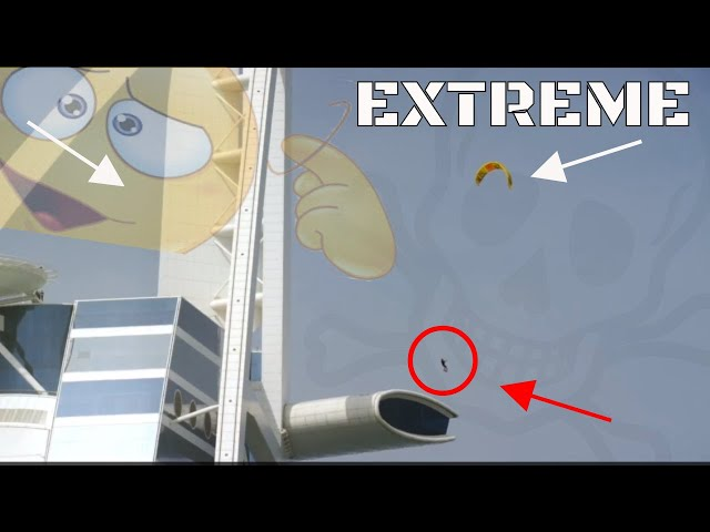 5 EXTREME WAYS to use a KITE   # TOP   LAB TV ⭐