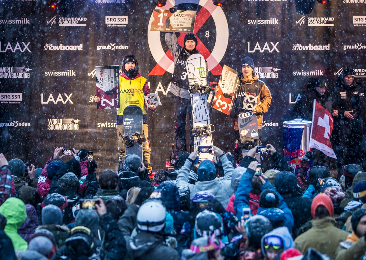 LAAX OPEN 2018 - Halfpipe Finals - And the winner