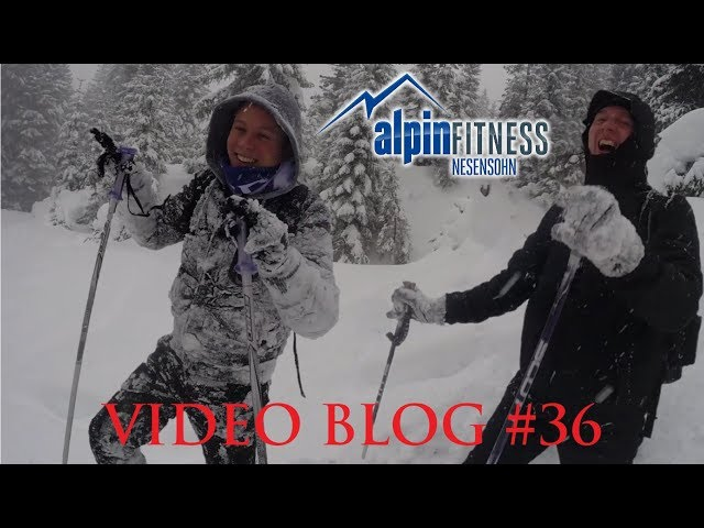 Snowshoeing with Benjamin and Andreas :: VLOG #36