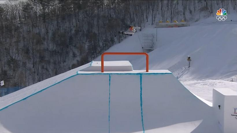 2018 Winter Olympics Men's Slopestyle Winning Run
