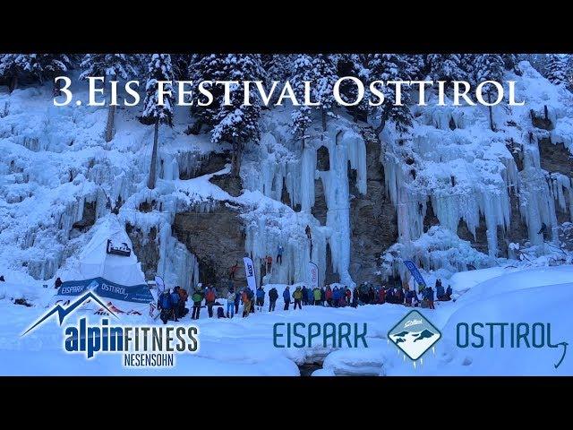 3rd Ice Climbing Festival / East Tyrol