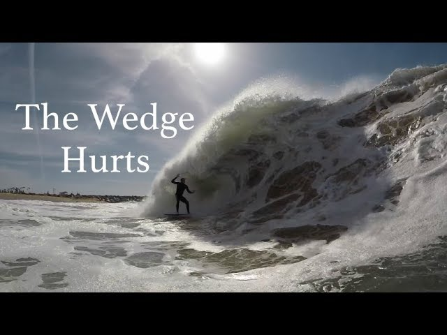 Wedge Wipeouts | A Day of Pain