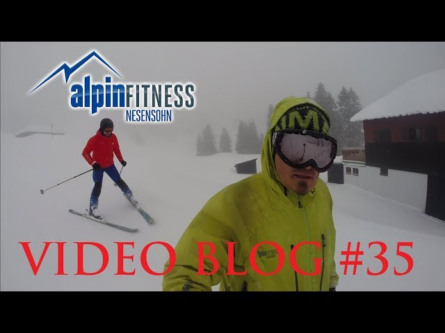 Jens`s seond day on skis :: VLOG #35