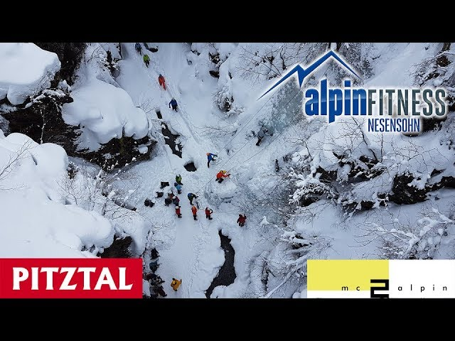 EIS TOTAL 2018 - Ice climbing Festival in Pitztal