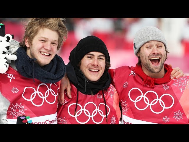 Men's Snowboard Big Air Final Olympics Highlights