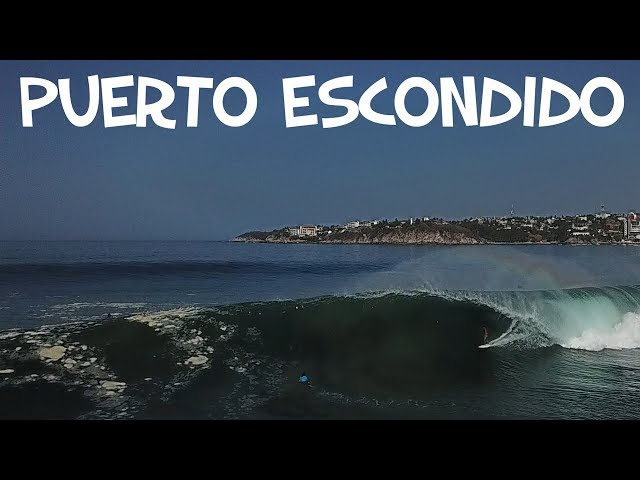 PUERTO ESCONDIDO SURFING (Drone)