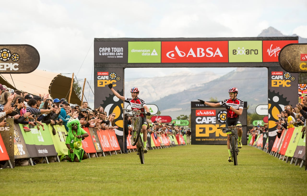 2018 Absa Cape Epic l The Grand Finale - Finishing
