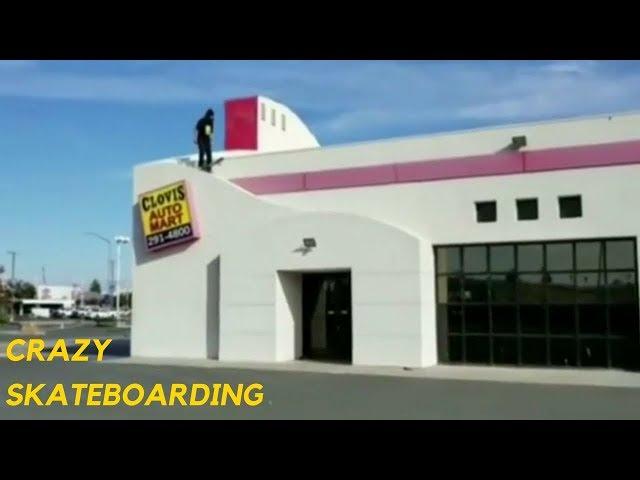 CRAZY SKATEBOARD TRICKS 2018!  #3