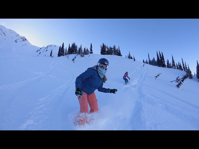 Snowboarding with Friends at Whistler Blackcomb