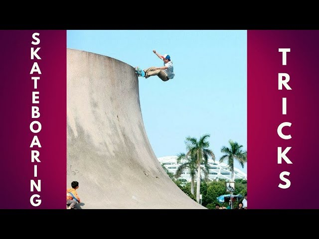 PEOPLE ARE AWESOME 2018! BEST SKATEBOARD TRICKS!