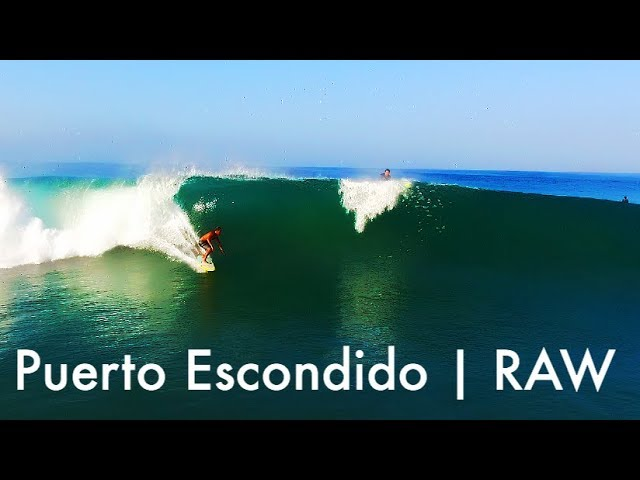 Puerto Escondido | Drone | raw fooage