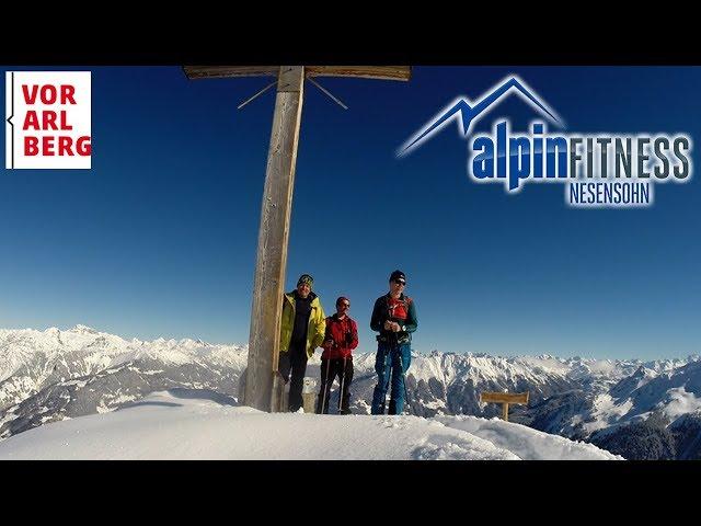 Skitour GOLMER JOCH 2124m :: MONTAFON :: AUSTRIA