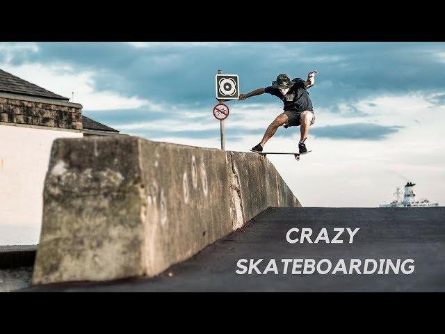 CRAZY SKATEBOARD TRICKS 2018!  #2