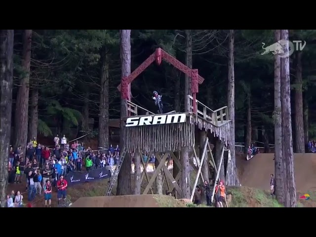 Brett Rheeder Wins Crankworx Rotorua Slopestyle