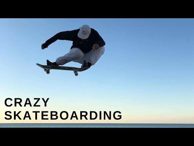 CRAZY SKATEBOARD TRICKS 2018!  #1