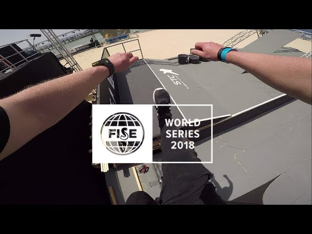 FISE World Series Parkour Jeddah 2018