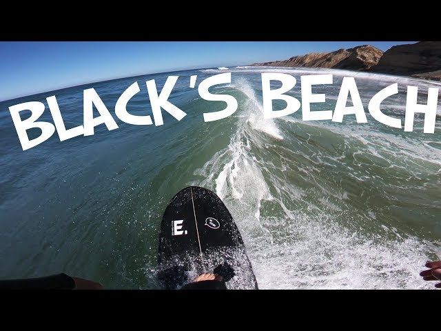 BLACK'S BEACH SOLO SURF