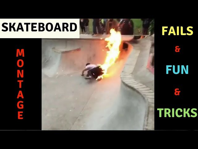 MIXS OF SKATEBOARD FAILS, FUN, TRICKS 2018! #3