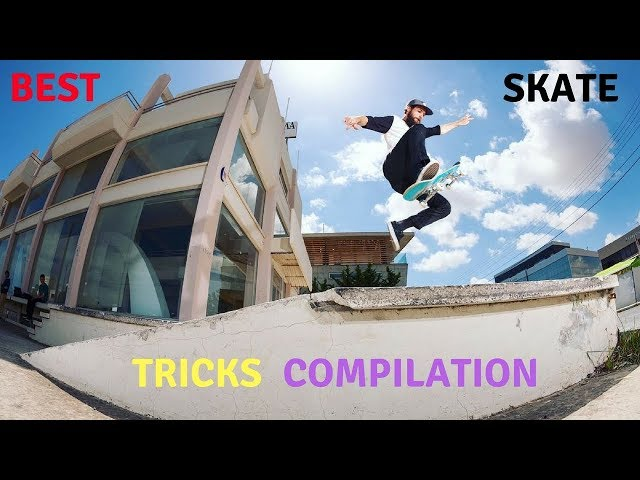 BEST SKATEBOARD TRICKS 2018! #26