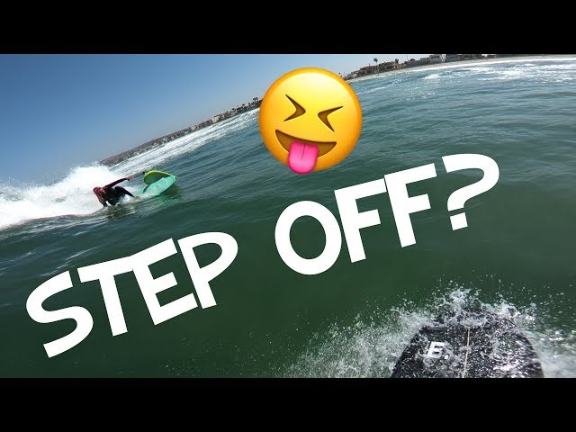 CATCH SURF STEP OFF (fail) 😩