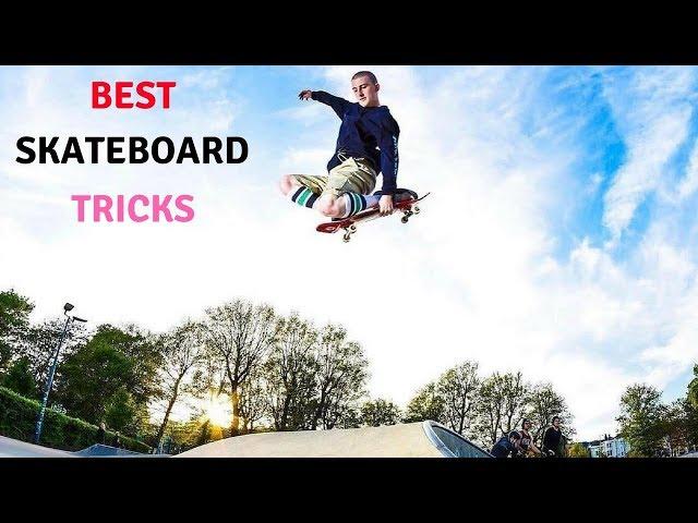 BEST SKATEBOARD TRICKS 2018! #25
