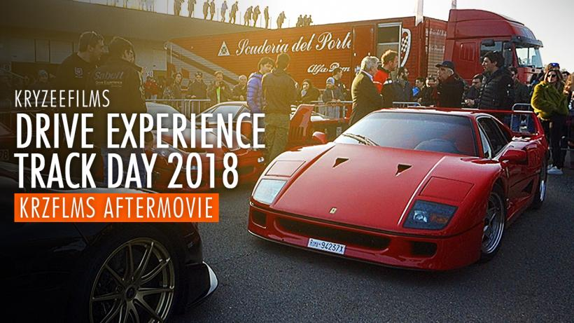 DRIVE EXPERIENCE TRACK DAY 2018 | Aftermovie