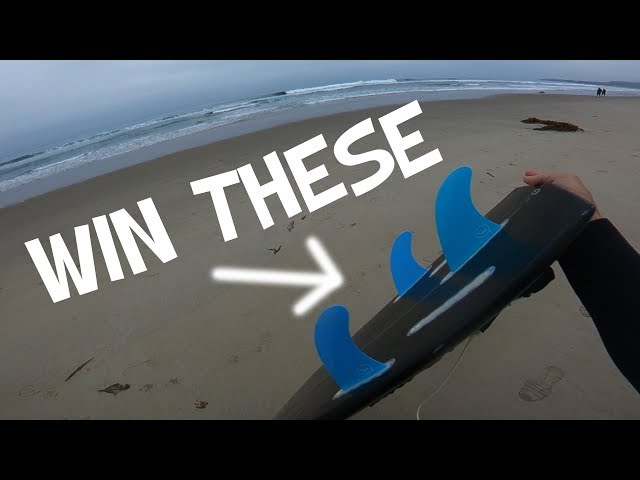 SURFBOARD FINS GIVEAWAY