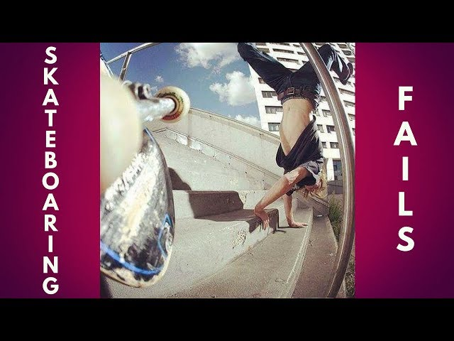 BEST SKATEBOARD FAILS 2018! #4