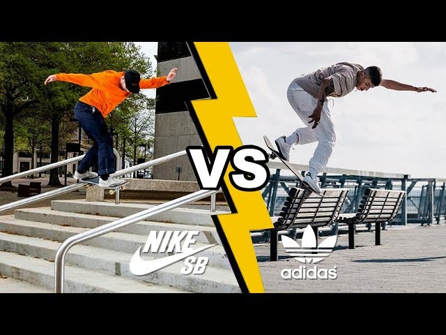 adidas vs nike - team skateboarding
