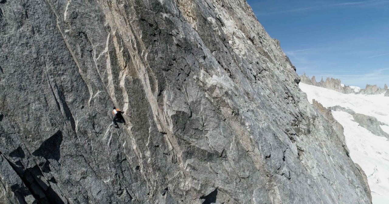 Dani Arnold - Speed-Rekord Grand Jorasses Nordwand