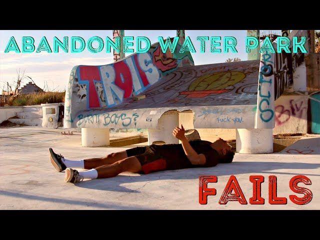 Abandoned Waterpark FAILS