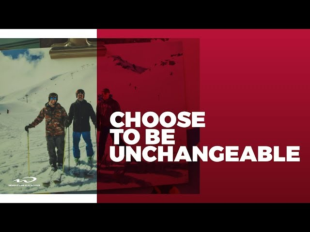 Choose To Be Unchangeable