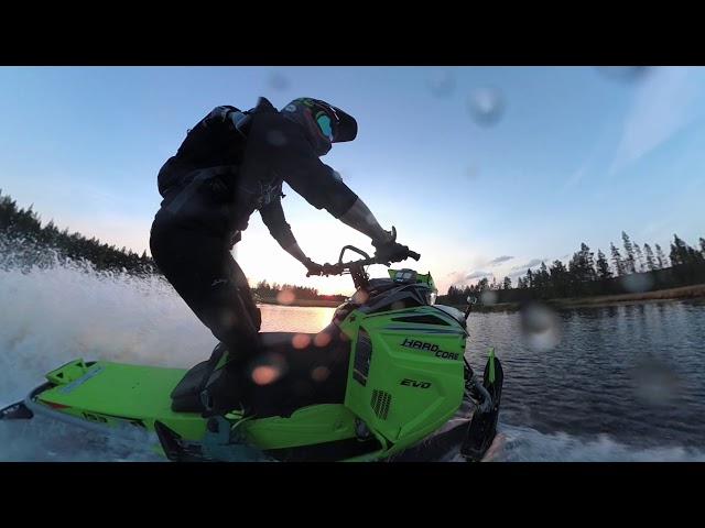 HARDCORE 2019 on water 3PV view VIRB 360