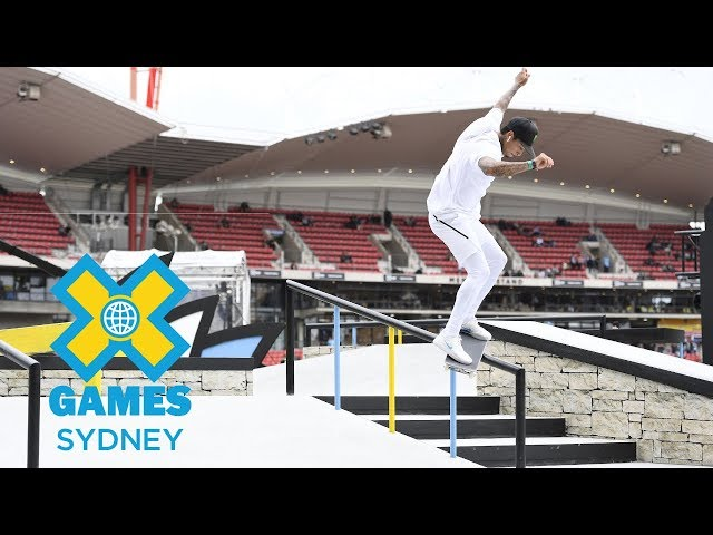 Nyjah Huston Wins Gold At X Games Sydney 2018