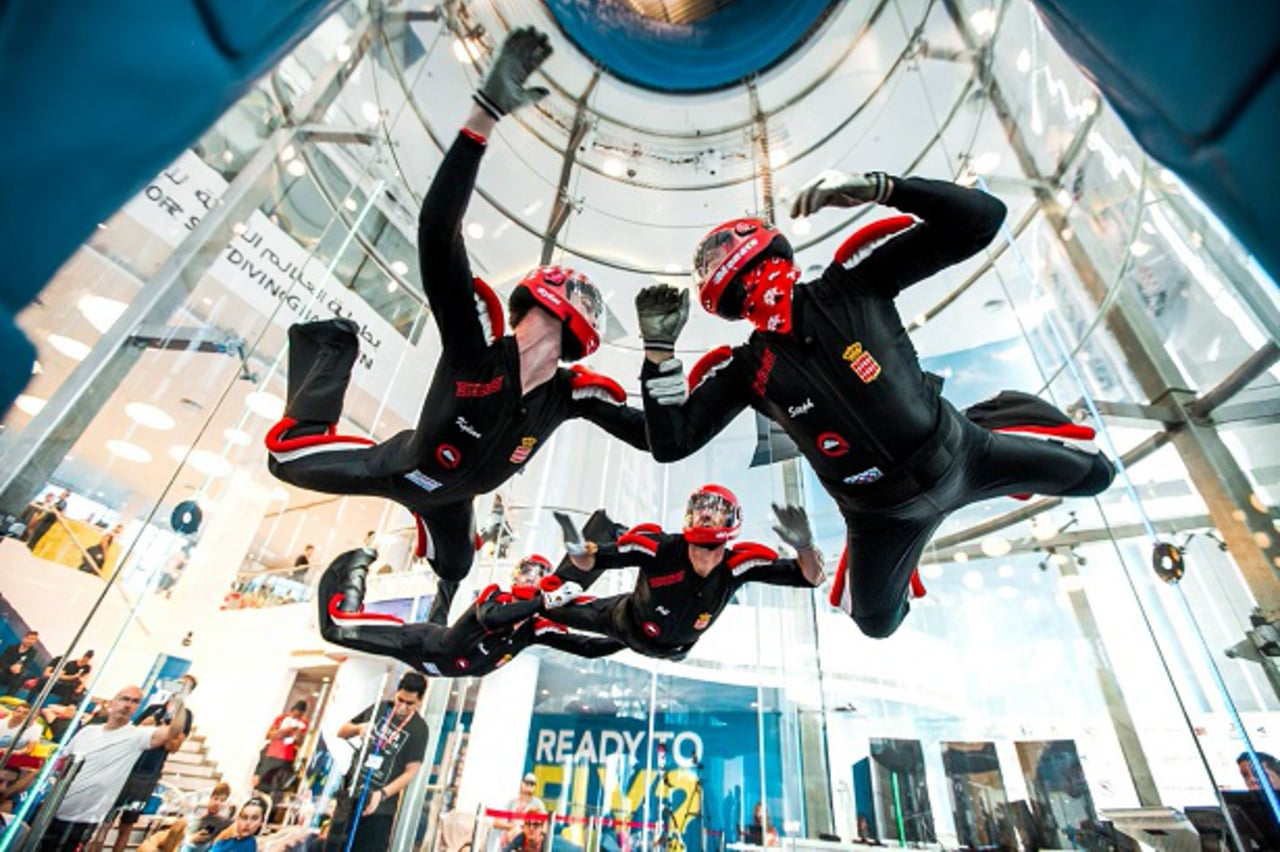 3rd FAI World Cup of Indoor Skydiving 2018 Bahrain