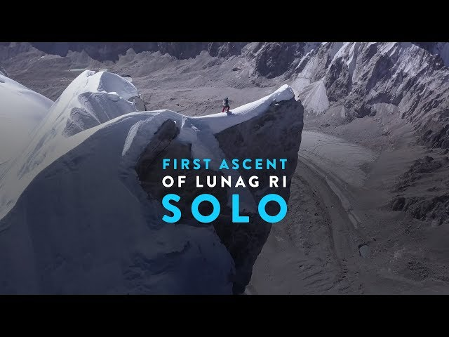 First Ascent of Nepal's Lunag Ri – Solo