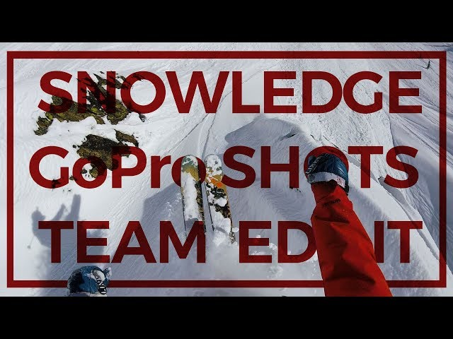 Snowledge GoPro Shots Team Edit