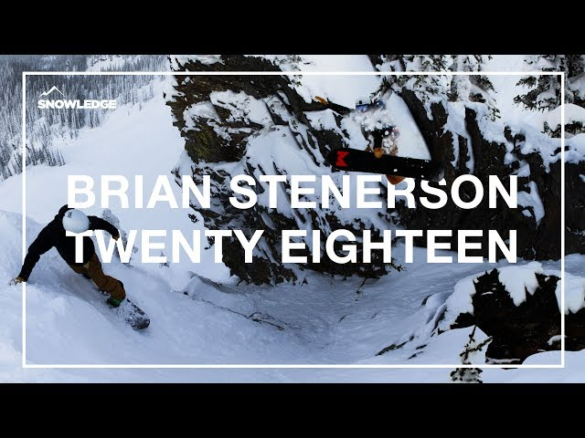 Brian Stenerson 2018 Season Edit | Snowledge