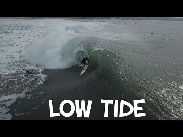 LOW TIDE BLACK'S BEACH