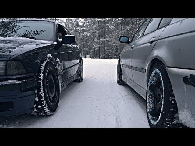 BMW E36 & E39 WINTER DRIFT