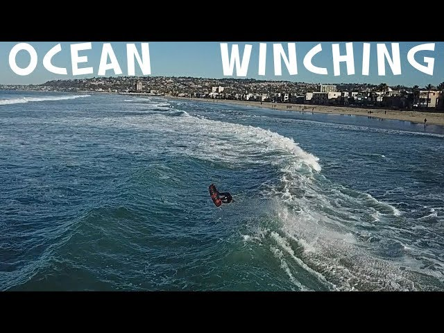 WINCH SURFING / WAKEBOARDING