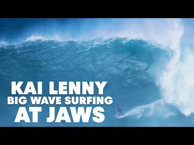 The Story Behind Kai Lenny's 20ft Air Drop At Jaws