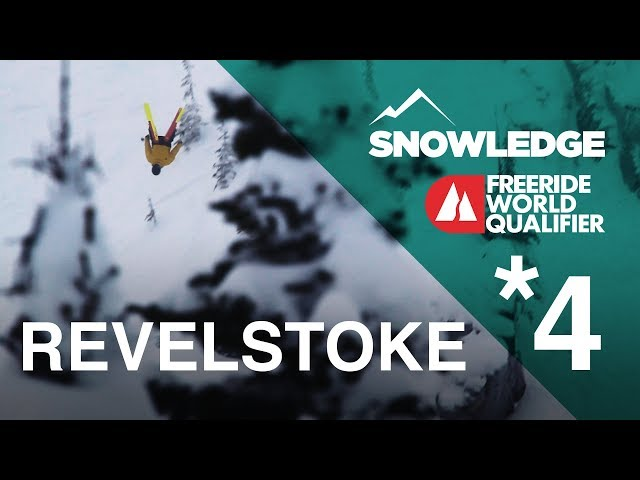 Revelstoke Freeride World Qualifier 4* Event | Sno