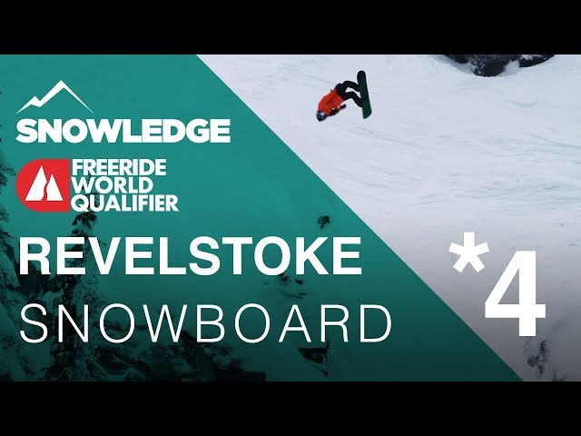 Revelstoke Freeride World Qualifier 4* Snowboard |
