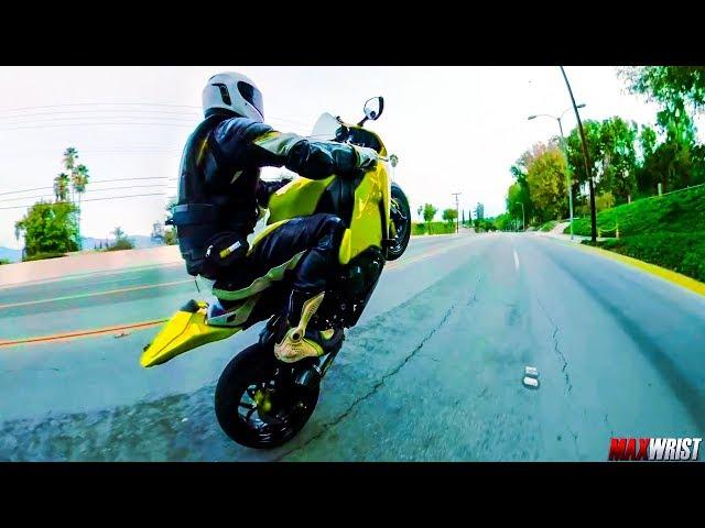 Max Wrist Wheelie Compilation