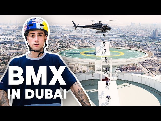 BMX Riding Dubai's Most Famous Landmarks