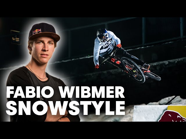 Fabio Wibmer Takes Over Slopestyle Ski Course