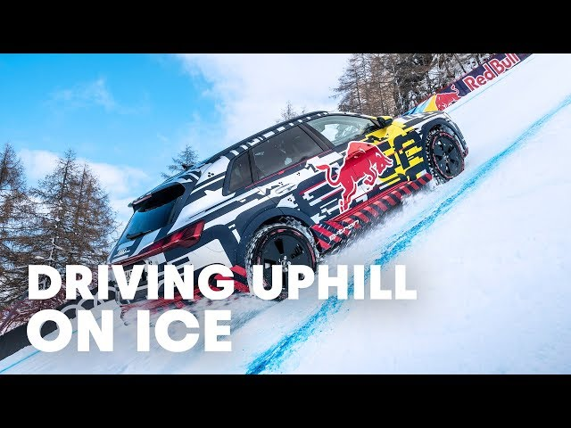 A Drive Up The World`s Most Challenging Ski Slope